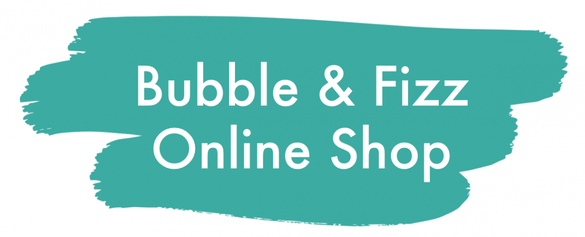 Advert for Bubble & Fizz Online Shop